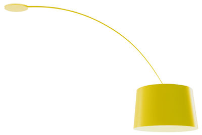 Image of Plafonnier Twiggy / Rotatif - Foscarini Jaune