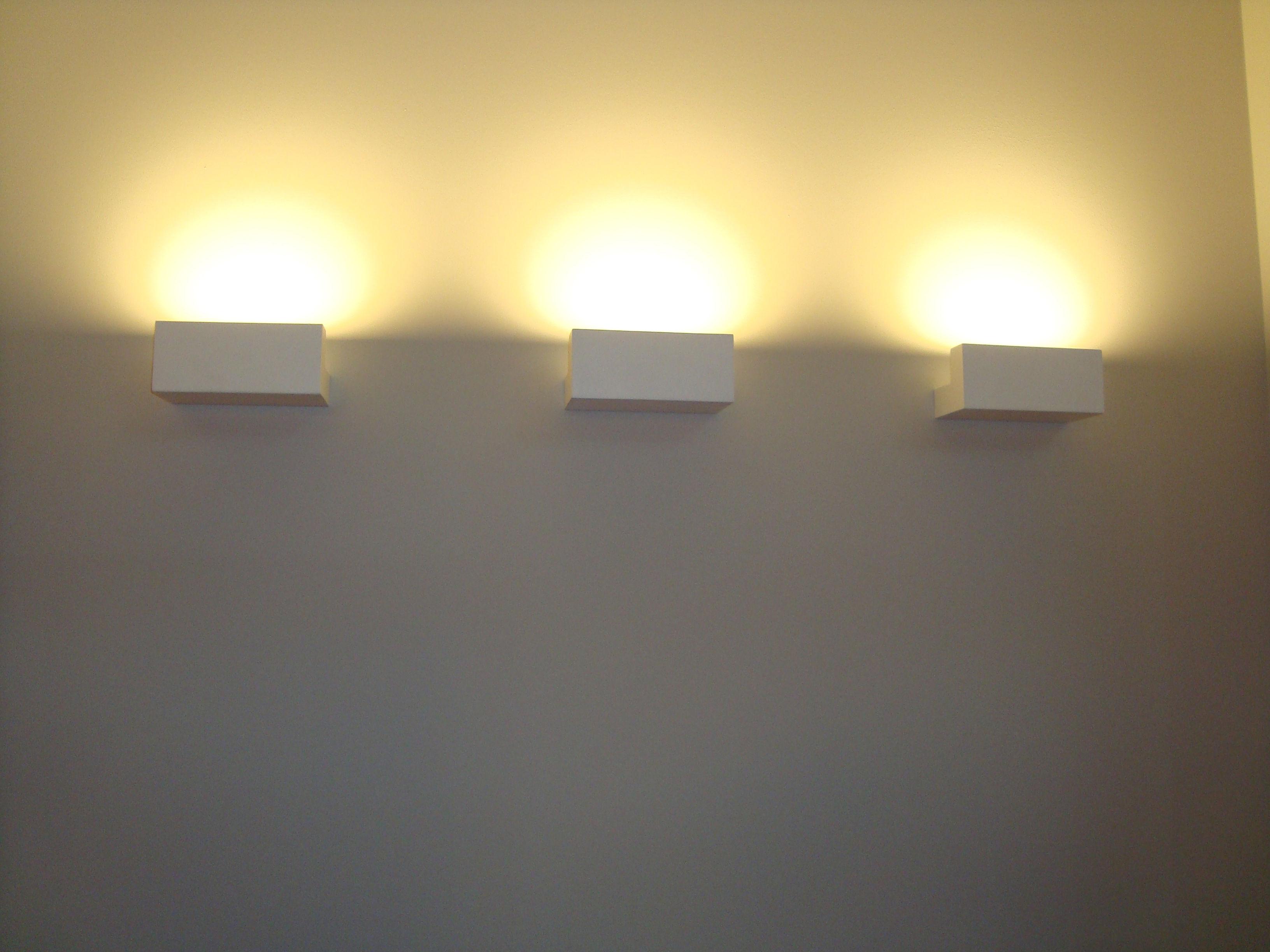 Wall Lights Long : Long light Wall light - LED Mat white by Flos