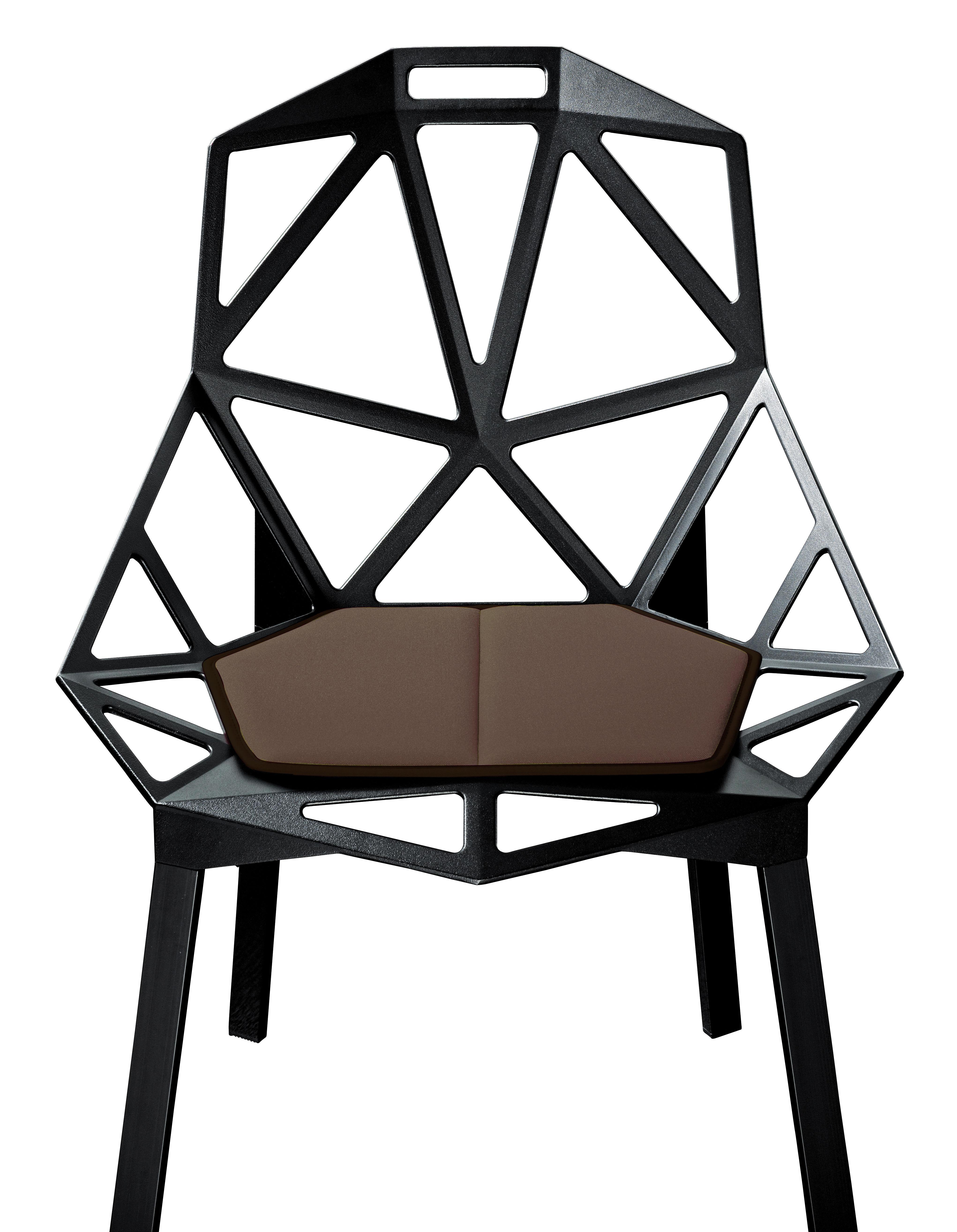 Chair one cushion brown by magis for Magis chair
