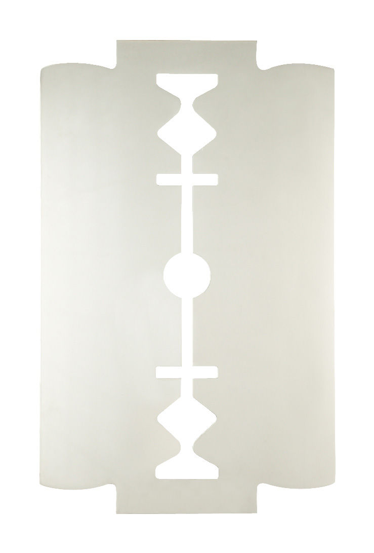 Miroir blade l 40 x h 65 cm miroir seletti for Miroir 40 cm