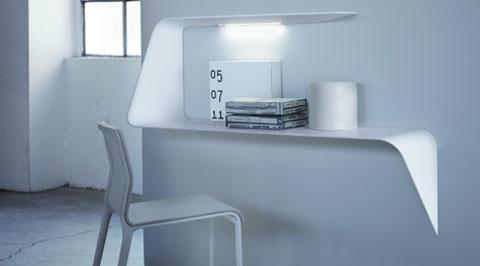 Bureau faible profondeur meuble haut bureau lepolyglotte