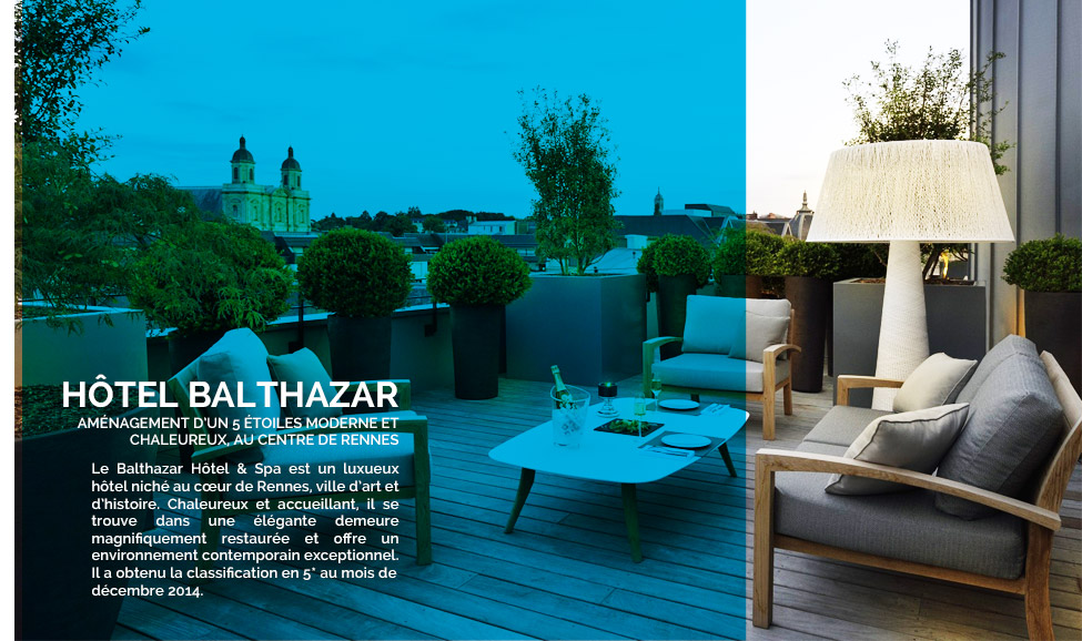 nos r alisations h tel balthazar rennes made in design pro. Black Bedroom Furniture Sets. Home Design Ideas
