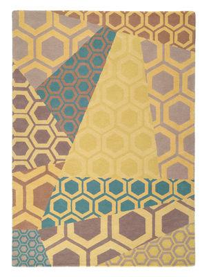 Déco - Tapis - Tapis Inca / 170 x 240 cm - Tufté main - Toulemonde Bochart - Jaune / Multicolore - Laine