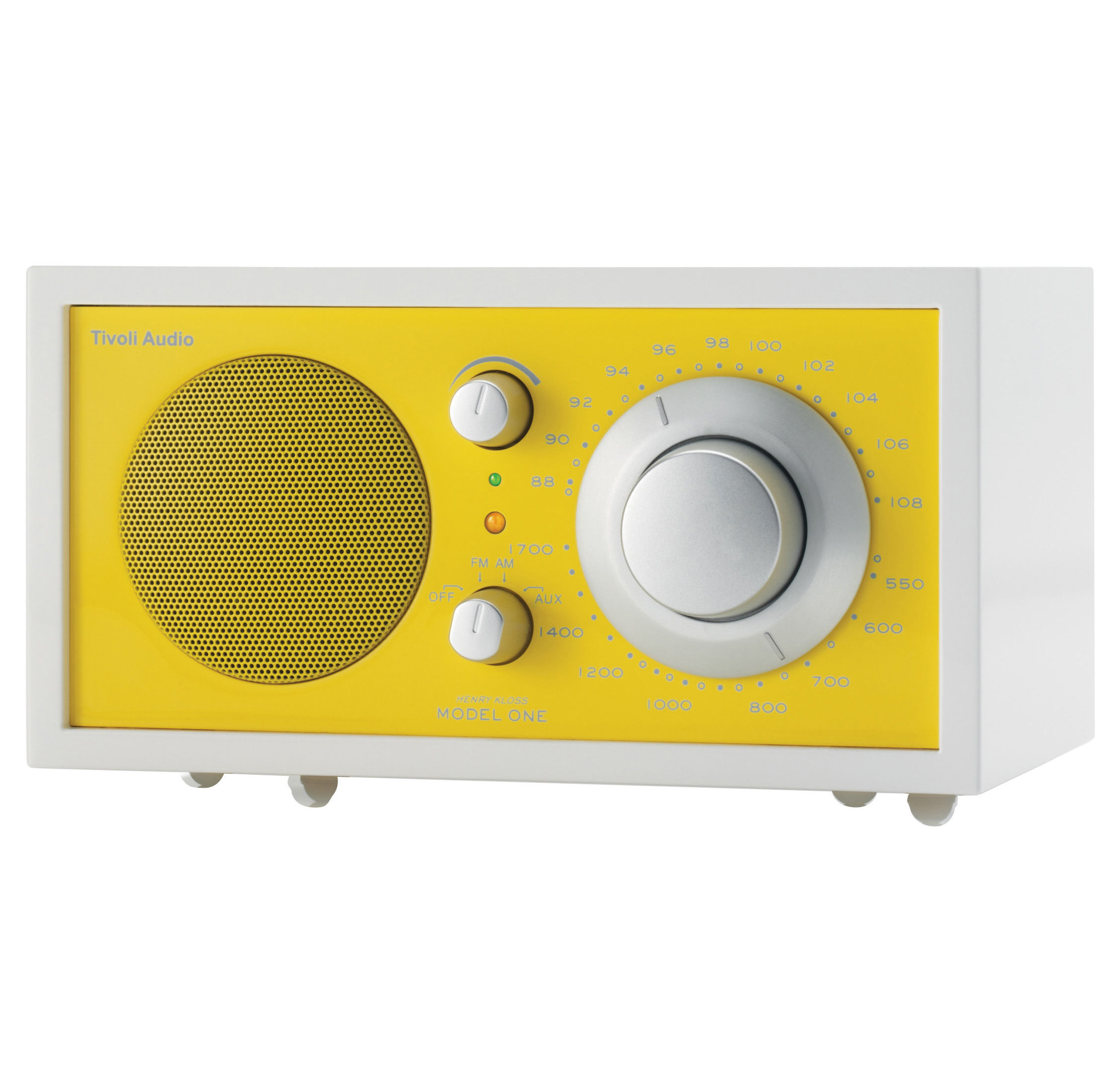 radio model one s rie frost white enceinte portative compatible ipod jaune tivoli audio. Black Bedroom Furniture Sets. Home Design Ideas