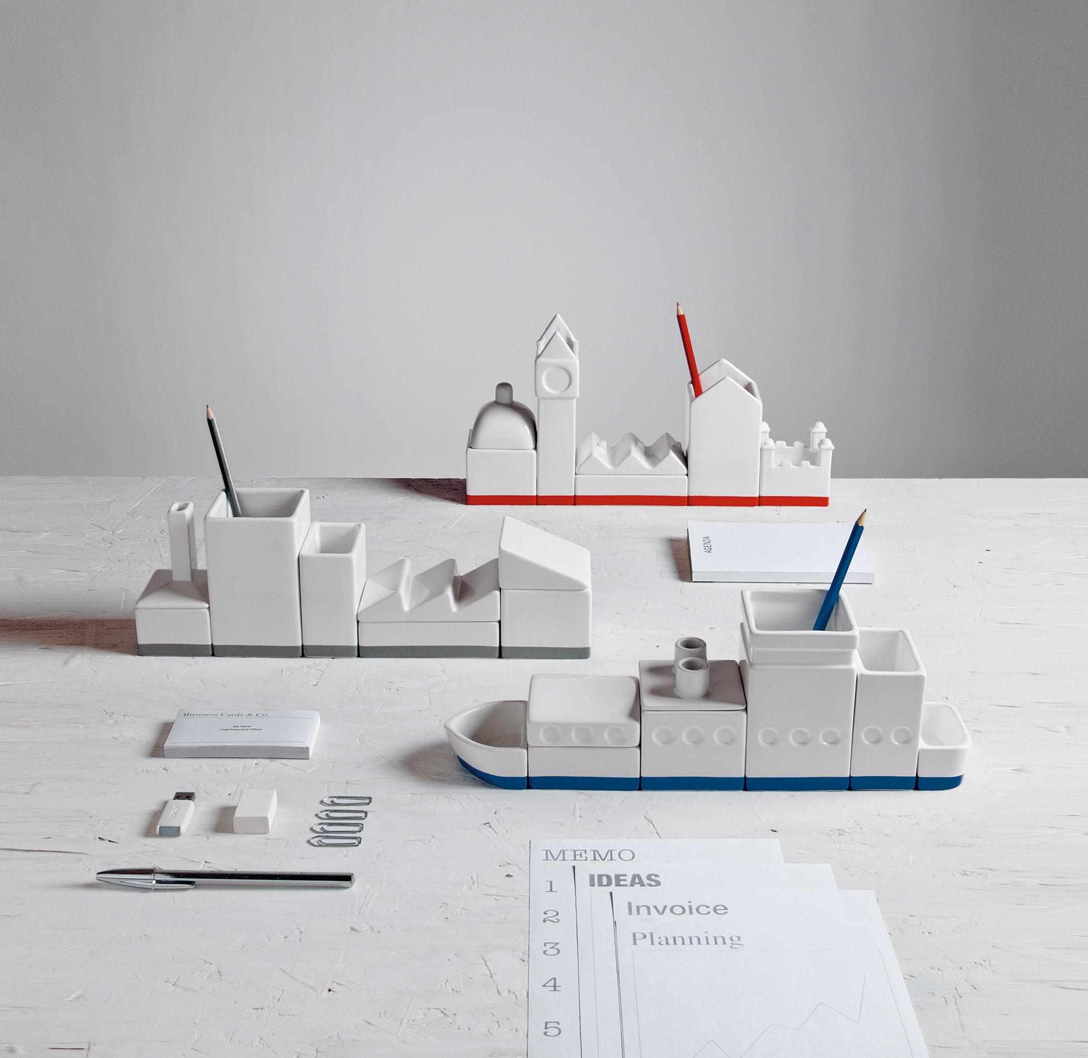 bo te la city set bo tes pour bureau l 33 cm blanc. Black Bedroom Furniture Sets. Home Design Ideas