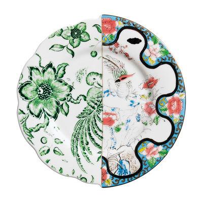 Assiette à dessert Hybrid Zoe Ø 20 cm Seletti multicolore en céramique