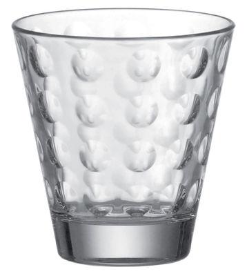 Image of Bicchiere da whisky Optic di Leonardo - Trasparente - Vetro