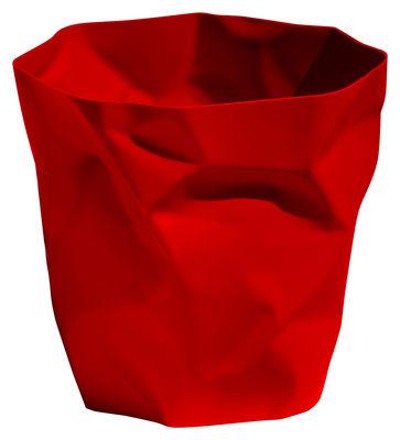 Déco - Accessoires bureau - Corbeille Bin Bin / H 31 cm - Essey - Rouge - Polyéthylène