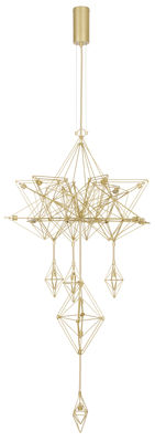 Himmeli Pendelleuchte / H 133 cm - Forestier - Gold