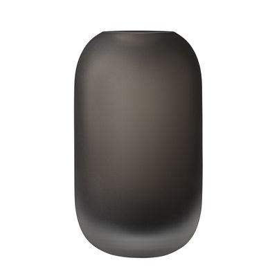 Déco - Vases - Vase Hydria / Ø 12 x H 22 cm - Verre - AYTM - H 22 cm / Chocolat - Verre dépoli