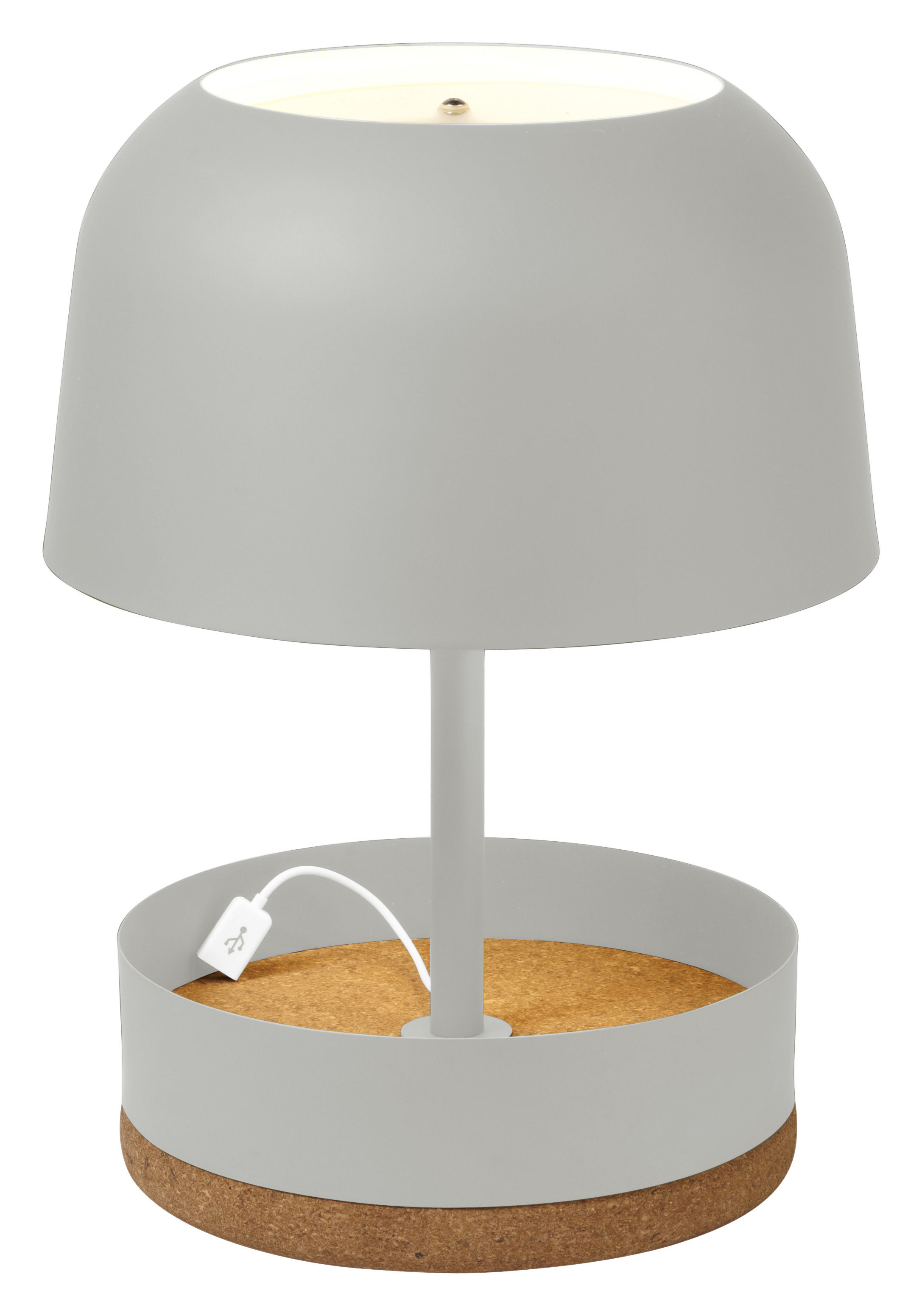 Ordinaire Hodge Podge USB Table Lamp   With USB Port   H 39,5 Cm Off White By  Forestier   Made In Design UK