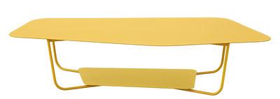 Mobilier - Tables basses - Table basse Ultrasofa / Métal - 162 x 74 cm - Fermob - Miel - Acier peint, Aluminium peint
