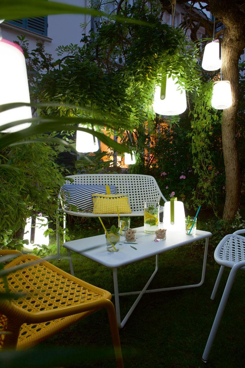 lampe sans fil balad led h 38 cm recharge usb verveine. Black Bedroom Furniture Sets. Home Design Ideas