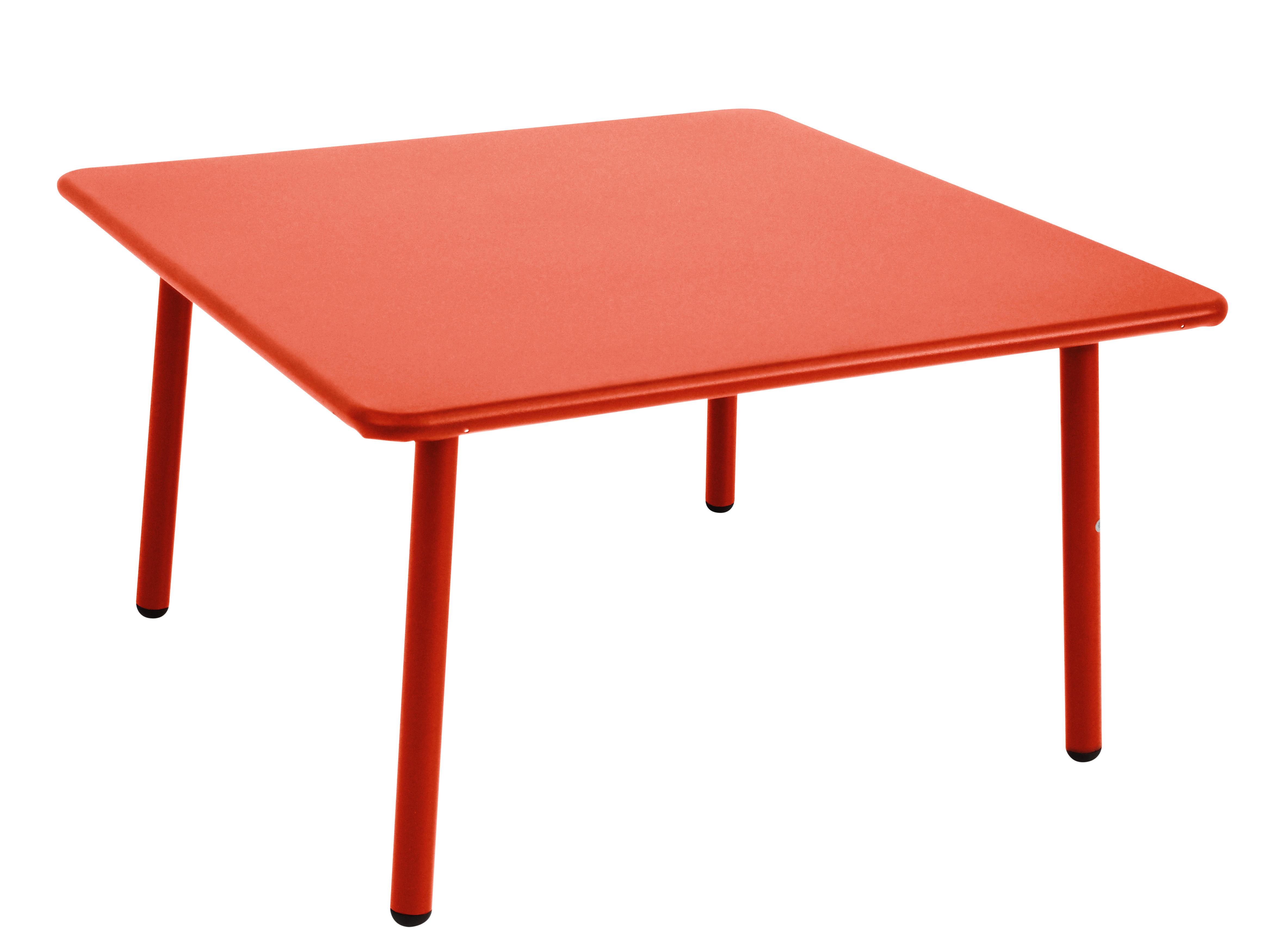 darwin coffee table 70 x 70 cm scarlet by emu