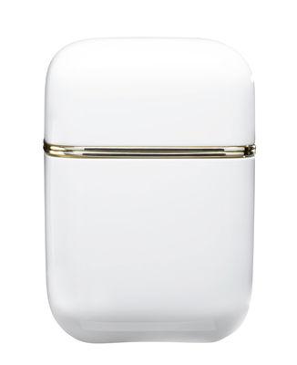 Foto Candela profumata Oyster / H 19 cm - 100 ore - Kartell Fragrances - Bianco - Materiale plastico