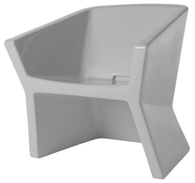 Poltrona Exofa di Slide - Bianco - Materiale plastico