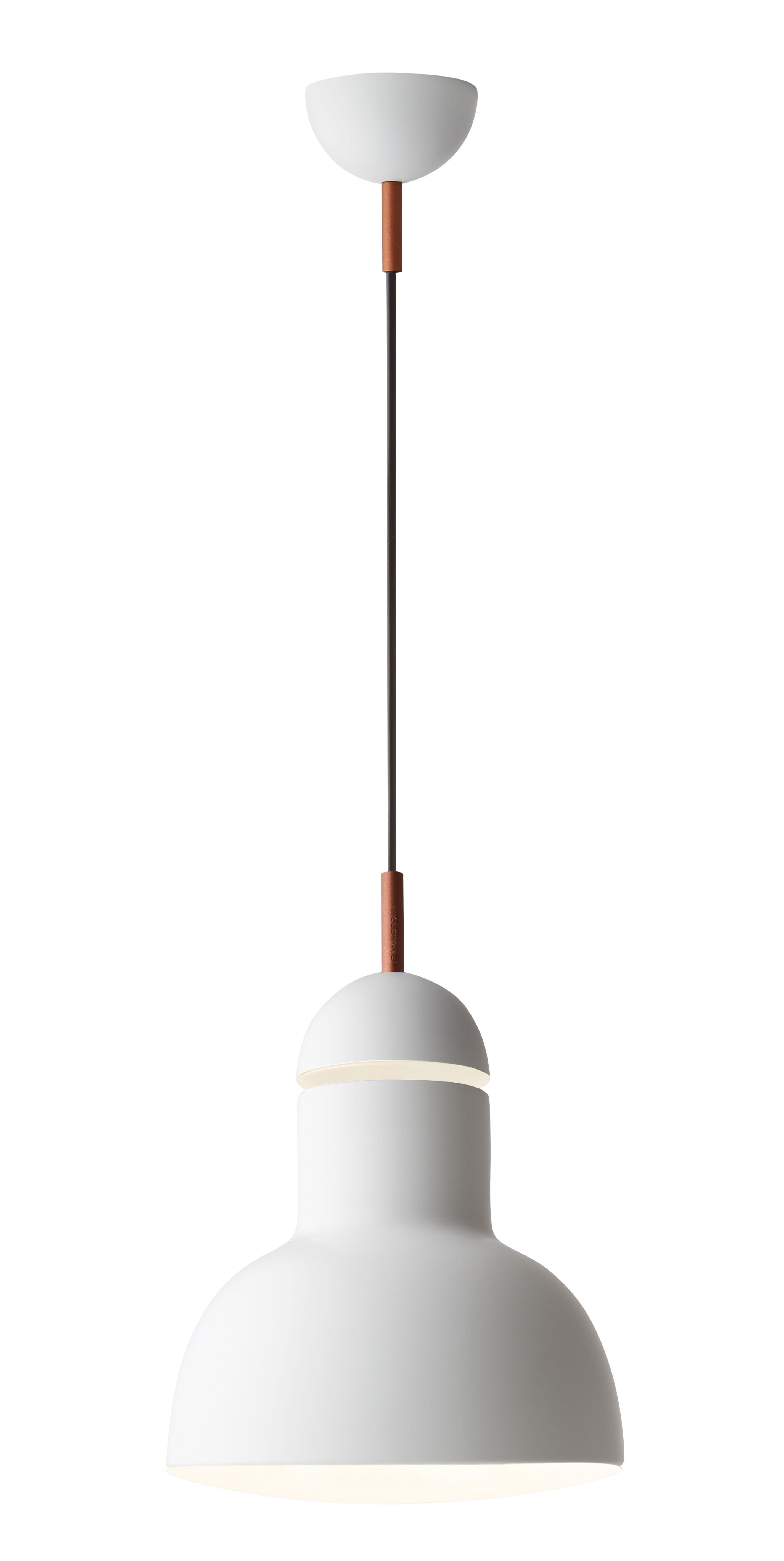 Suspension type 75 maxi 23 cm blanc anglepoise - Luminaire industriel la giant collection par anglepoise ...