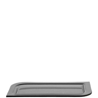 Coupe Smoked Lucca / Assiette - 18x35 cm - Leonardo gris en verre