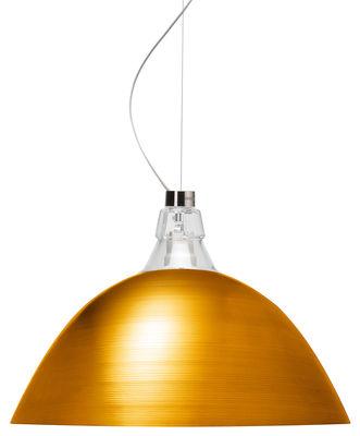 Luminaire - Suspensions - Suspension Bell / Ø 45 x H 33 cm - Diesel with Foscarini - Bronze - Aluminium verni, Verre soufflé