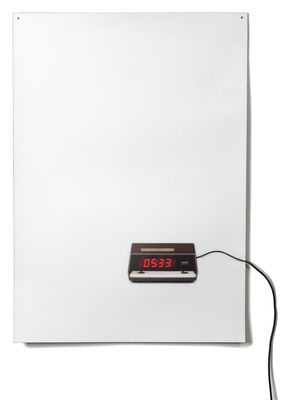horloge murale blanc. Black Bedroom Furniture Sets. Home Design Ideas