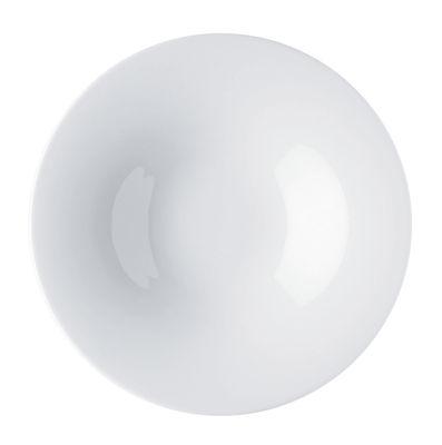 Image of Piatto fondo Ku - / Ø 23 cm - 32 cl di Alessi - Bianco - Ceramica