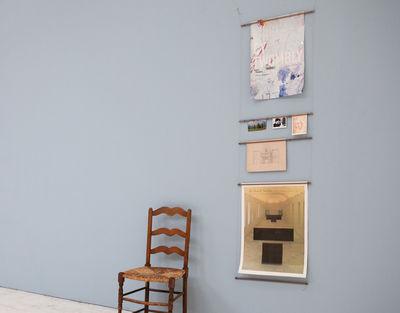 Déco - Objets déco et cadres-photos - Cadre-photo Echelle à affiches /  H 203 cm x larg 55 cm - L'atelier d'exercices - Noyer - Noyer