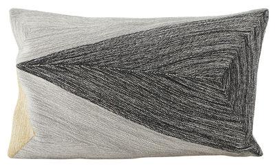 Coussin Arrow / 30 x 50 cm - House Doctor gris,noir,beige en tissu
