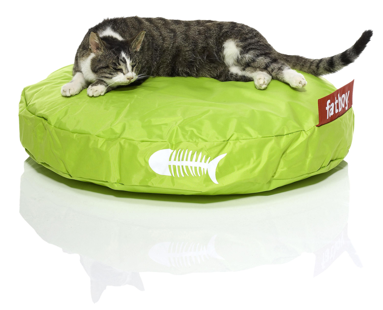 pouf catbag pour chat citron vert fatboy. Black Bedroom Furniture Sets. Home Design Ideas