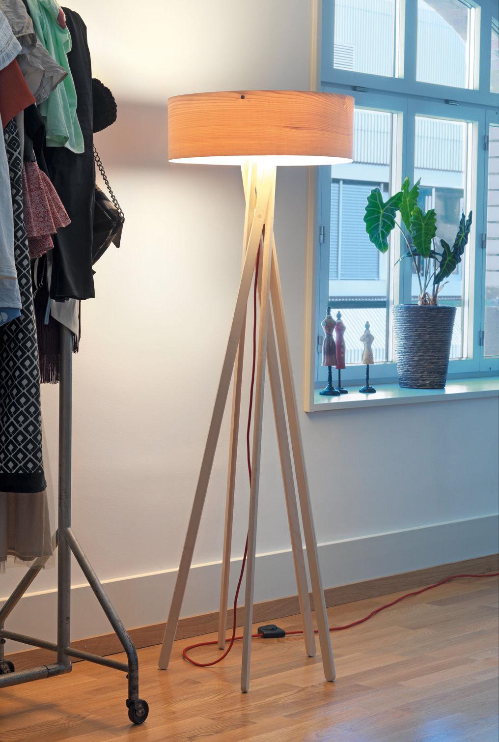 lampadaire arba lampadaire avec variateur bois avec variateur belux. Black Bedroom Furniture Sets. Home Design Ideas