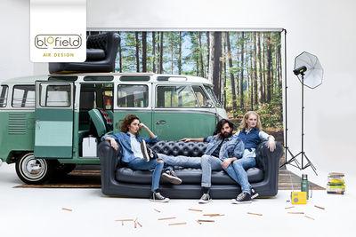 Very Big Blo Divano destro - / gonfiabile - 4 posti - L 239 cm Nero ...
