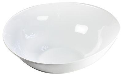 Arts de la table - Saladiers, coupes et bols - Saladier Affamé / Ø 32 cm - Tsé-Tsé - Blanc - Porcelaine