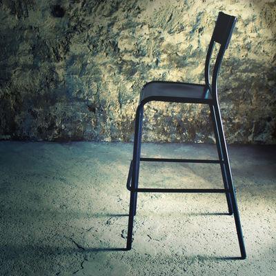 Chaise de bar 510 originale assise bois h 60 cm h 60 - Chaise de bar originale ...