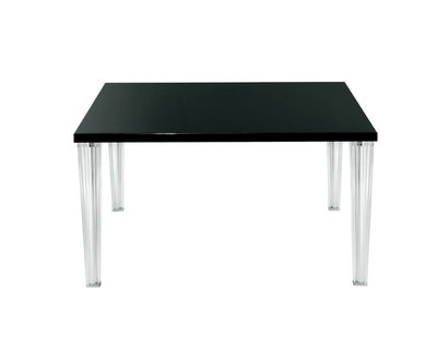 Rentrée 2011 UK - Must-have - Table Top Top / Verre - 130 x 130 cm - Kartell - Verre noir - PMMA, Verre