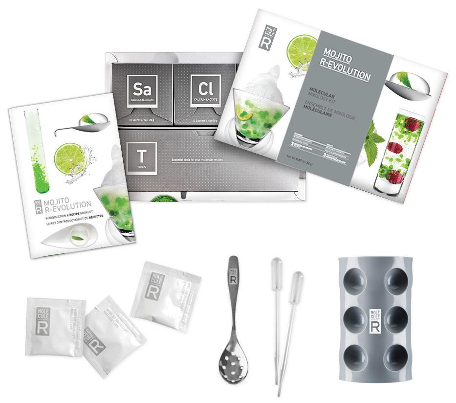 kit cuisine mol culaire mojito r volution kit mojito mol cule r. Black Bedroom Furniture Sets. Home Design Ideas