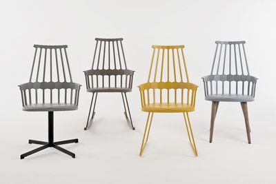 Arredo Ufficio Kartell : Scopri rocking chair comback sedia a dondolo giallo legno di