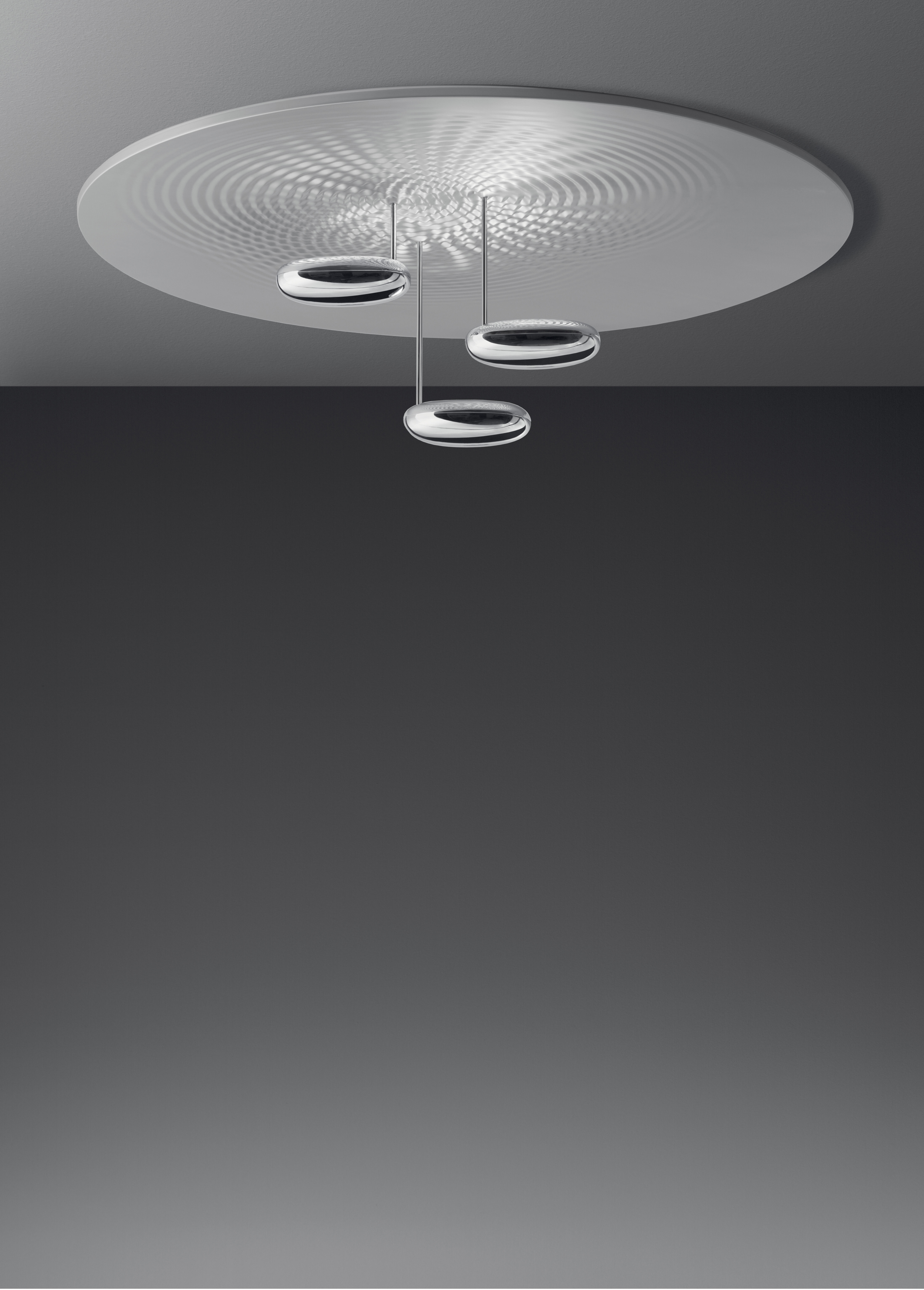 Droplet plafoniera led by artemide made in design for Artemide illuminazione