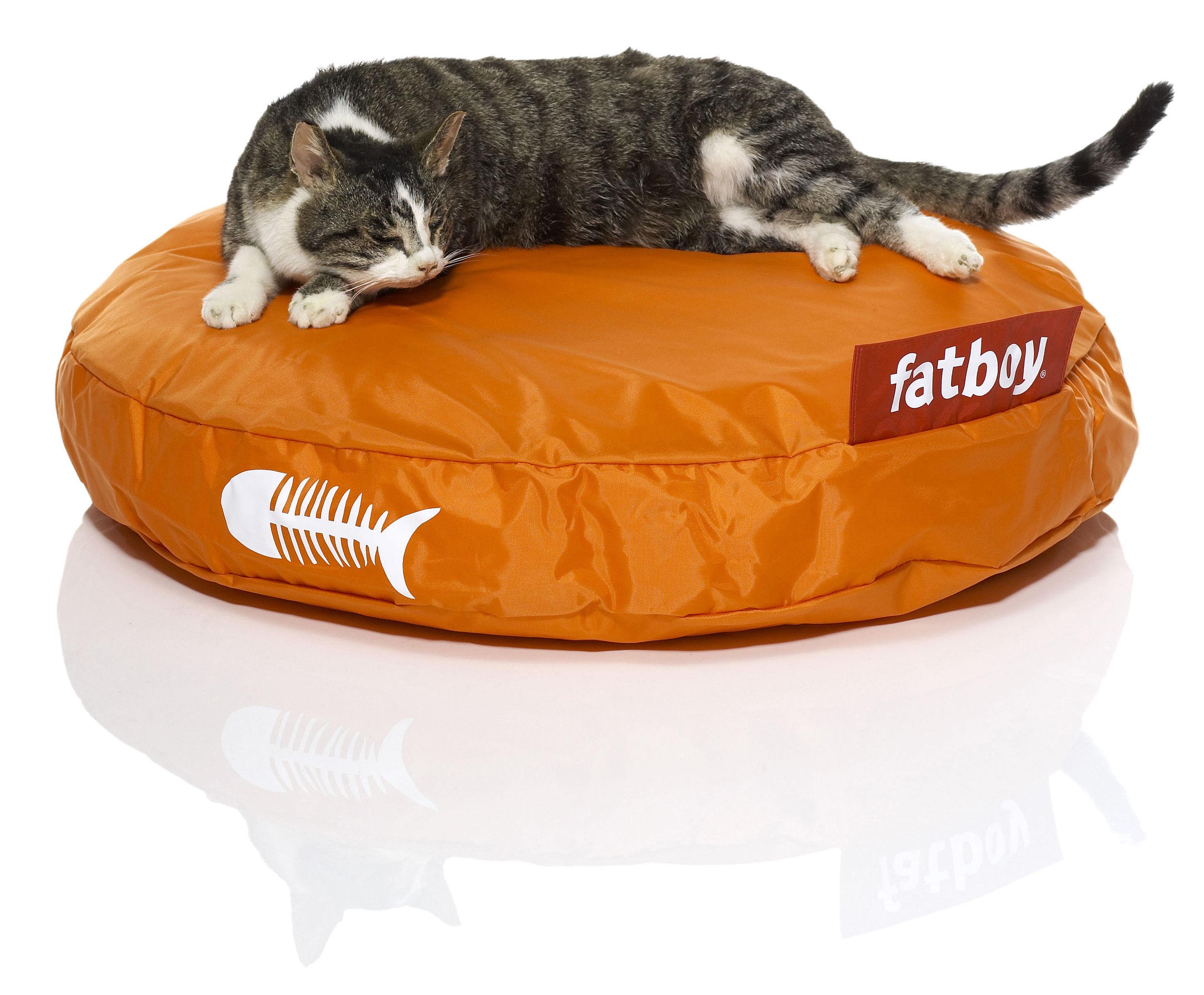 pouf catbag pour chat orange fatboy. Black Bedroom Furniture Sets. Home Design Ideas