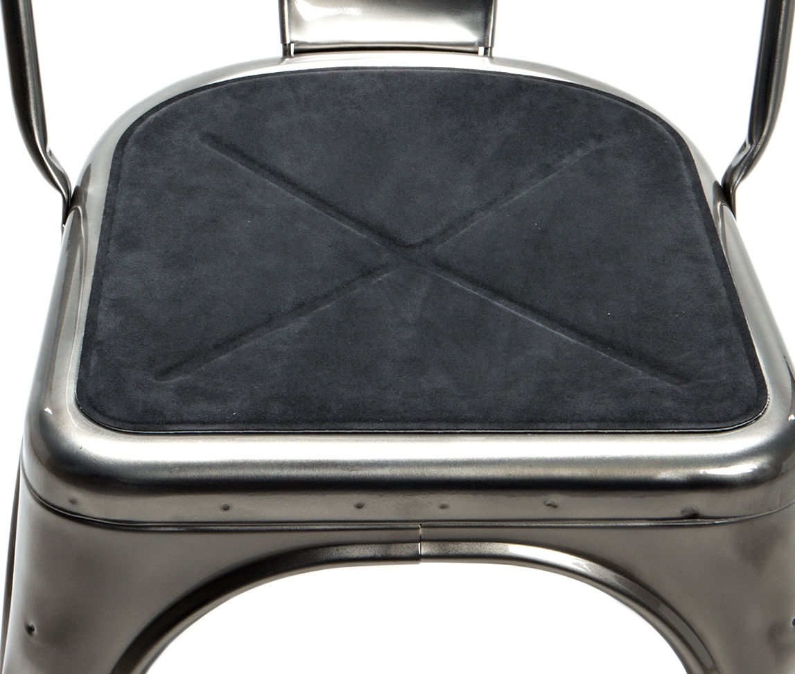 flat seat cushion anthracite by tolix made in design uk