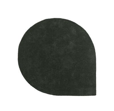 Tapis Stilla / 160 x 130 cm - Tufté main - AYTM vert forêt en tissu