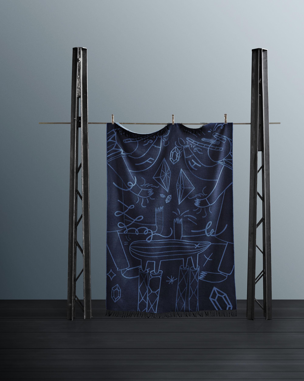 jaime hay n 200 x 130 cm merino und alpaka wolle fritz hansen plaid. Black Bedroom Furniture Sets. Home Design Ideas