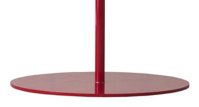 Pied de parasol Plate Round / Pour Parasols Bloom et Frou Frou - Sywawa rouge en métal
