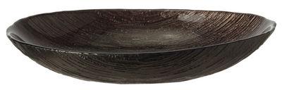 Arts de la table - Plats - Coupe Como Large / 27 x 18 cm - Verre - Leonardo - L 27 cm / Bronze - Verre