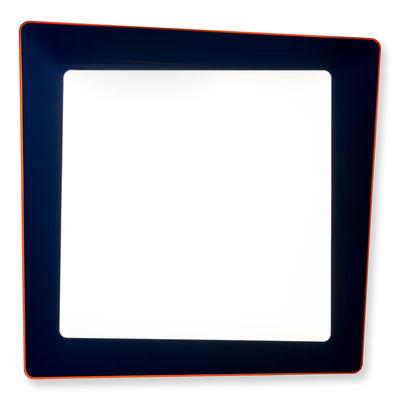 Crazy Wandleuchte / Deckenleuchte LED - 70 x 70 cm - Artemide - Blau,Orange