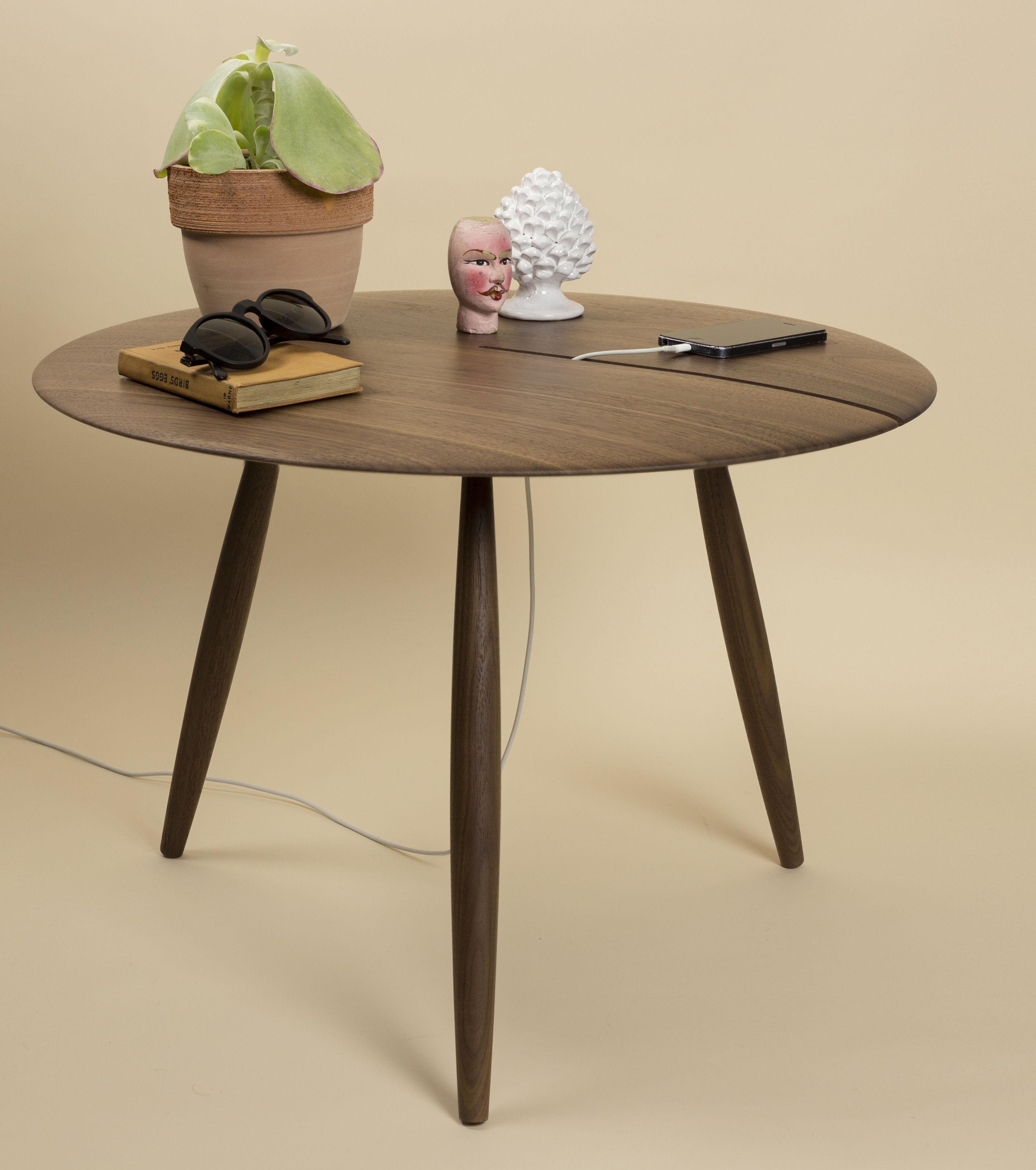 table basse orio 60 cm noyer internoitaliano. Black Bedroom Furniture Sets. Home Design Ideas