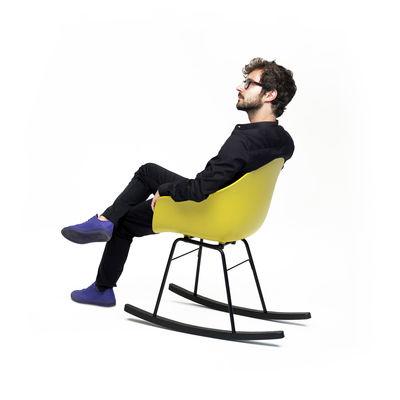Möbel   Lounge Sessel   TA Schaukelstuhl / Kufen Aus Holz   Toou   Schwarz /