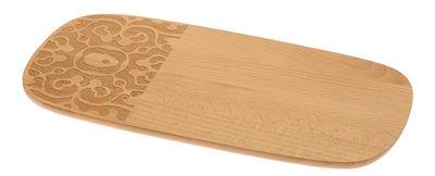 Planche à petit-déjeuner Dressed in Wood / 30 x 15 cm - Alessi bois naturel en bois