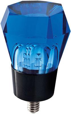 Ampoule LED E14 Crystaled / Octogonale - 3W - Seletti bleu en verre