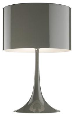 Lampe de table Spun light T2 H 68 cm - Flos taupe en métal