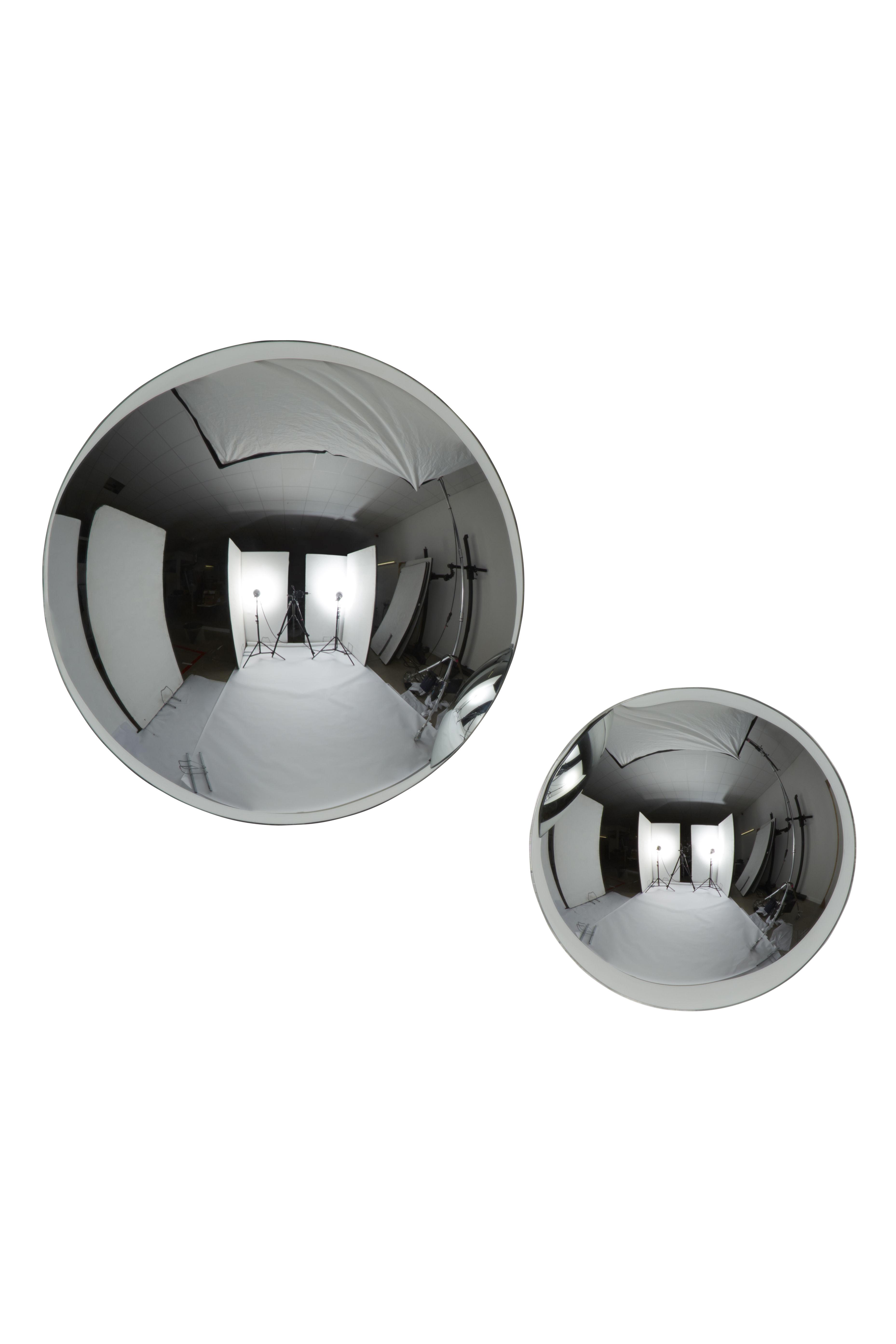 Miroir dome convexe 40 cm chrom tom dixon for Miroir convexe