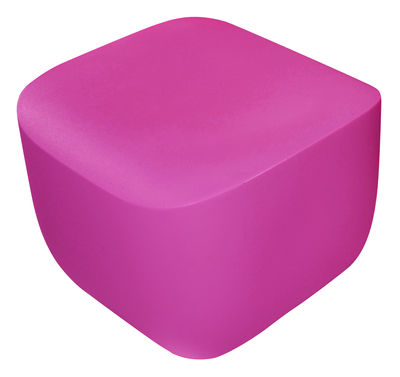 Foto Pouf Translation di Qui est Paul ? - Fucsia - Materiale plastico